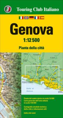 TCI: Genova várostérkép 1:12.500 - 2017