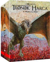 Trónok Harca 1-6. évad - DVD