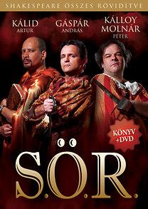 Adam Long; Kálloy Molnár Péter; Jess Winfield; Daniel Singer: S.Ö.R. - Shakespeare Összes Rövidítve - Könyv + DVD