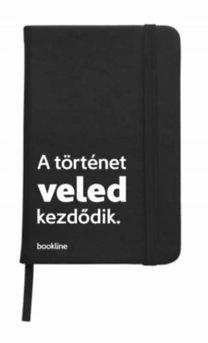 Bookline notesz - A történet veled kezdődik. - fekete