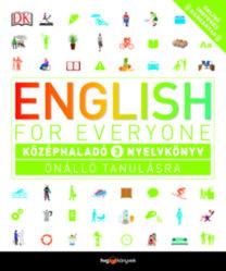 English for Everyone: Középhaladó 3. nyelvkönyv - Önálló tanulásra +  Online hanganyag