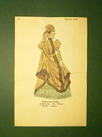 Pártos Vera: Franciaország. A XVI.sz. II. fele. Utcai ruha.