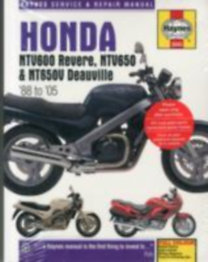 Haynes Publishing: Honda NTV600 Revere, NTV650 & NT650V Deauville (88 - 05) Haynes Repair Manual - 88-05