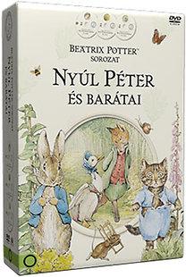 Beatrix Potter - Nyúl Péter és barátai díszdoboz - 3 DVD