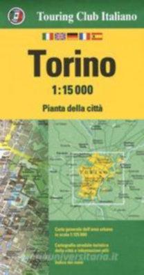 TCI: Torino várostérkép 1:15000 TCI - 2018