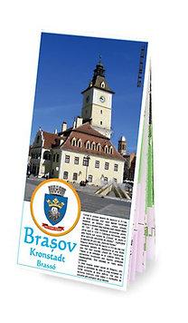 26878d2034 Stiefel Eurocart Kft.: Brassó város hajtogatott térképe (1170517H) - 1:13000