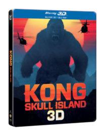Kong: Koponya-sziget - 3D Blu-ray + Blu-ray (fémdobozos)