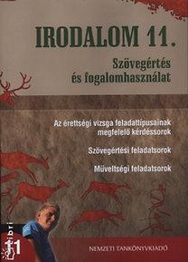 Turcsányi Márta; Osztovits Szabolcs: Irodalom 11. - Szövegértés és fogalomhasználat