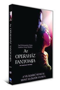 Az operaház fantomja - DVD