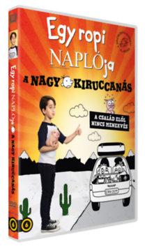 Egy ropi naplója - A nagy kiruccanás - DVD