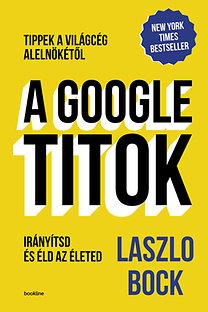 Laszlo Bock: A Google titok - Irányítsd és éld az életed