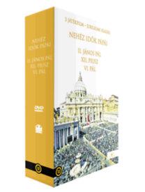 Nehéz idők pápái - díszdoboz DVD - II. János Pál - Félelem nélkül, VI. Pál - Viharos idők pápája, XII. Pius - Róma ege alatt