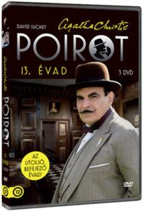 Poirot - 13. évad - 3 DVD - Az elefántok nem felejtenek - A nagy négyes - Gloriett a hullának - Herkules munkái - Függöny - Poirot utolsó esete