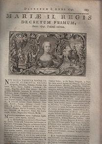 Mária Terézia magyar királynő (1717-1780)