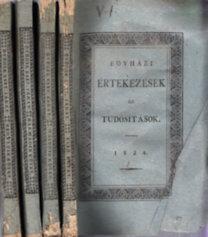 Egyházi értekezések és tudósítások 1824/1-4. (teljes évfolyam)