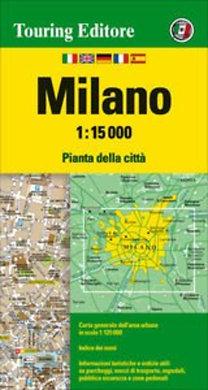 TCI: Milánó várostérkép - 1:15000