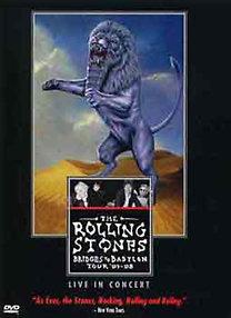 Rolling Stones - Hidak Babylonba Turné '97-98 Élő koncert - DVD