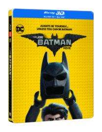 Lego Batman - A film - Blu-ray 3D + Blu-ray (fémdobozos)