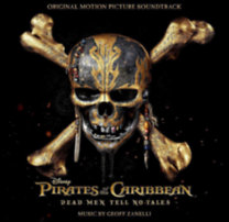 Pirates of the caribbean - Dead men tell no tales - CD