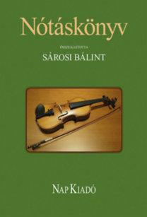Sárosi Bálint: Nótáskönyv