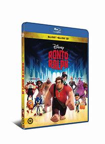 Rontó Ralph (3D Blu-ray + Blu-ray)