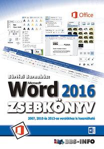 Bártfai Barnabás: Word 2016 zsebkönyv
